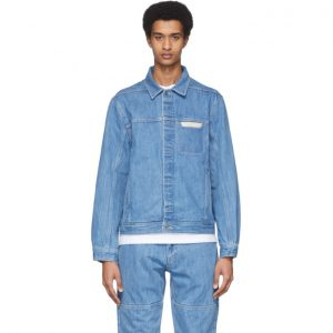 Saturdays NYC Blue Denim Kurlick Jacket