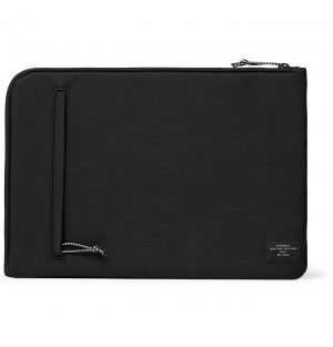 "Saturdays NYC - Logo-Print Nylon 13"" Laptop Case - Men - Black"