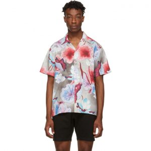 Saturdays NYC Multicolor Canty Short Sleeve Shirt