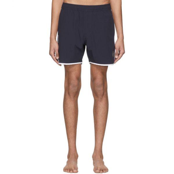 Saturdays NYC Navy Cardamuro Swim Shorts