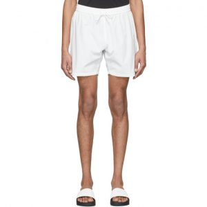 Saturdays NYC White Leo S.C. Shorts