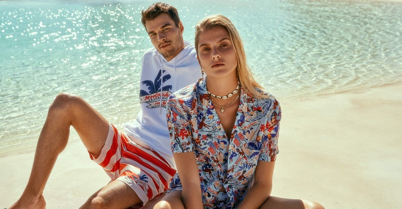 Scotch & Soda unveils its summer 2020 capsule collection with Keoni.