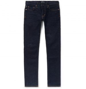 TOM FORD - Slim-Fit Stretch-Denim Jeans - Men - Blue