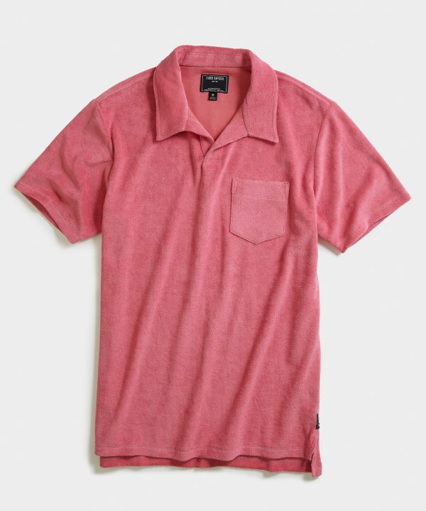 Terry Montauk Polo in Pink