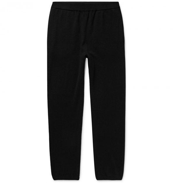 The Row - Felix Slim-Fit Cashmere Sweatpants - Men - Black