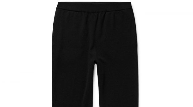 The Row - Felix Slim-Fit Cashmere Sweatpants - Men - Black