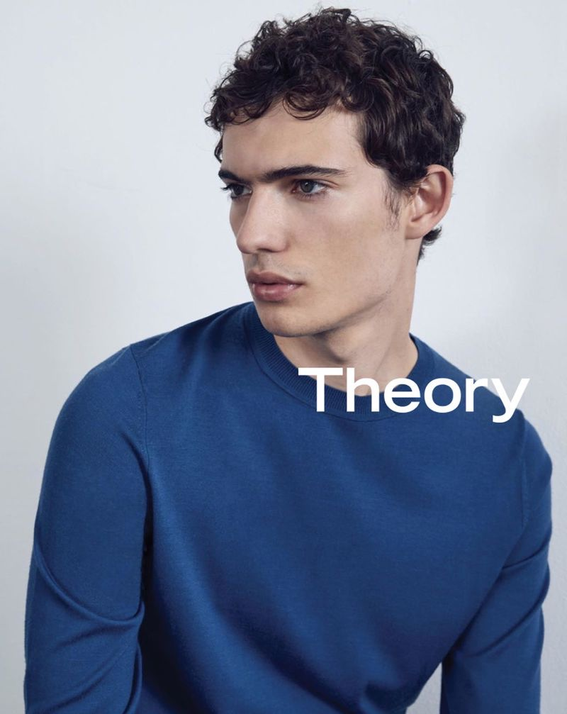 Piero Mendez connects with Theory for its latest advertising campaign.