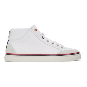 Thom Browne White Cupsole Sneakers