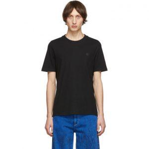 Acne Studios Black Bla Konst Tiger Badge T-Shirt