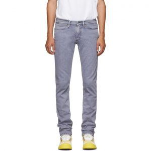 Acne Studios Grey Bla Konst Slim Jeans