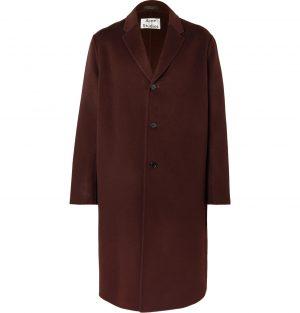 Acne Studios - Wool Coat - Men - Burgundy