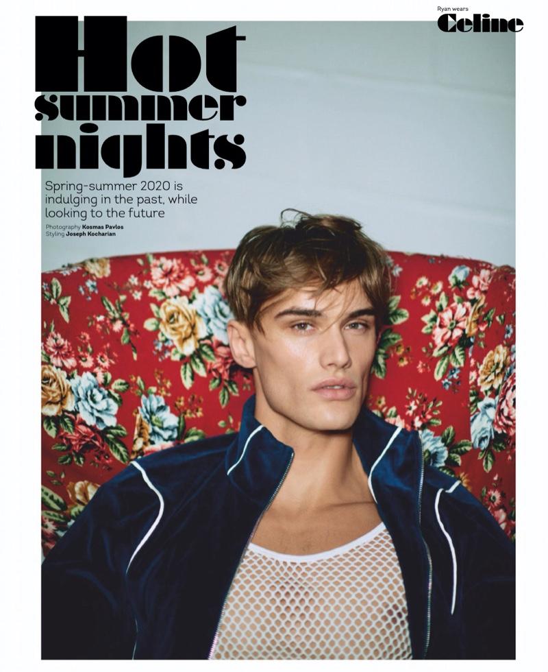 Hot Summer Nights: Elliott, Raphael & Ryan for Attitude