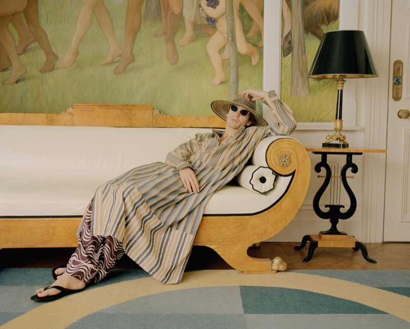Inside/Outside: Ben Allen Lounges with MatchesFashion