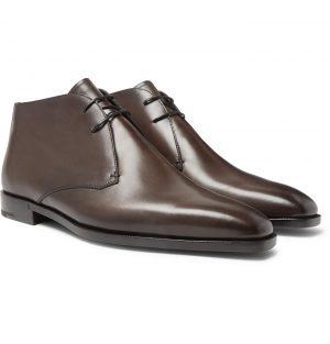Berluti - Leather Chukka Boots - Men - Brown