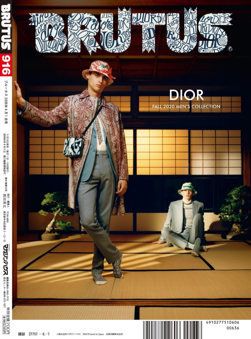 Dior Meets Japan: Ludwig & Thatcher for Brutus