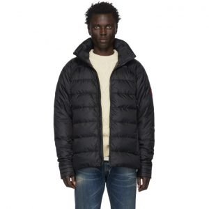 Canada Goose Black Down Hybridge Base Jacket