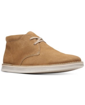 Clarks Men's Forge Stride Chukka Boots Men's Shoes