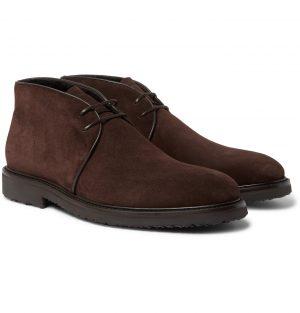 Ermenegildo Zegna - Suede Chukka Boots - Men - Brown