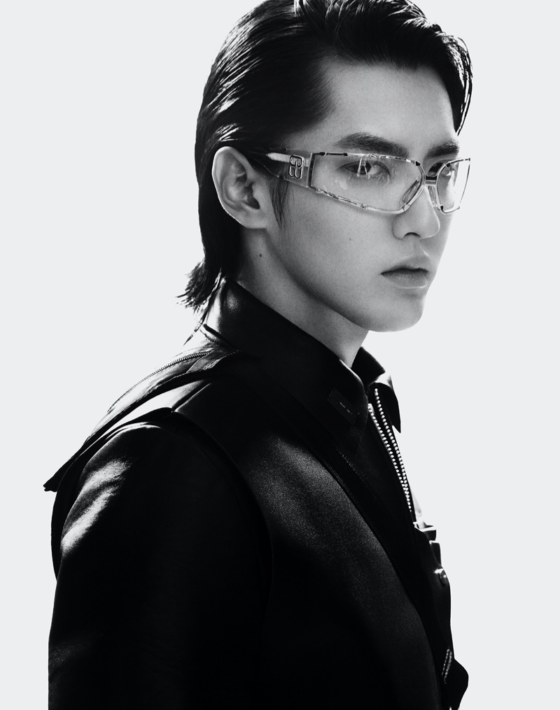 Kris Wu collaborates with Gentle Monster for a new eyewear collection.