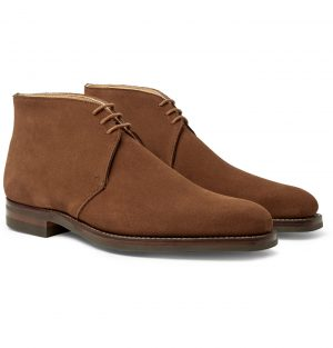 George Cleverley - Nathan Suede Chukka Boots - Men - Brown