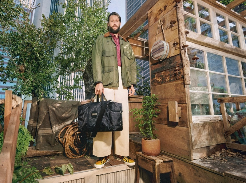 David Mayer de Rothschild fronts Gucci's Off the Grid campaign.