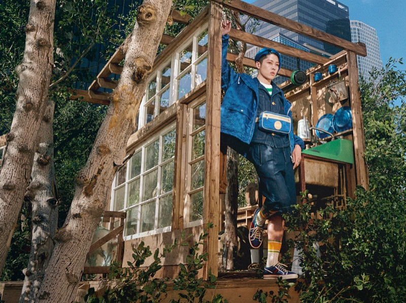Miyavi appears in Gucci's Off the Grid campaign.