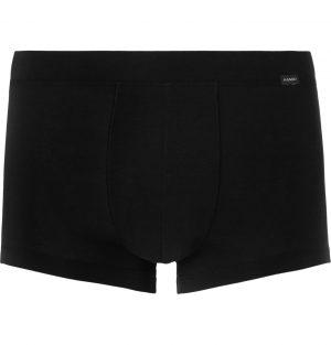 Hanro - Stretch Lyocell and Cotton-Blend Boxer Briefs - Men - Black
