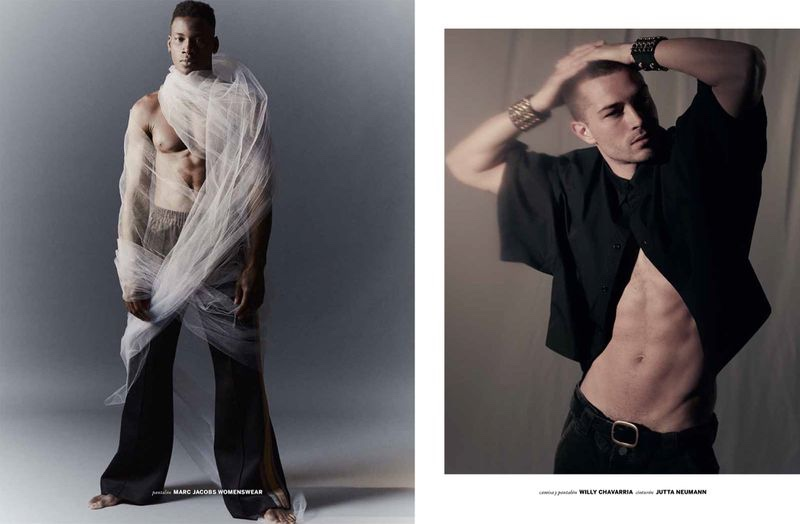 David, Francisco & Mikkel Star in Issue South America Cover Shoot
