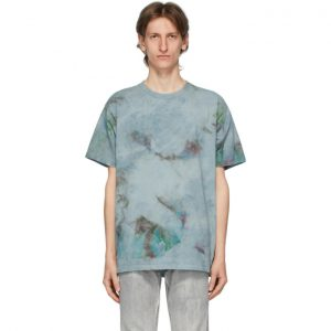 John Elliott Blue Marble Mix University T-Shirt