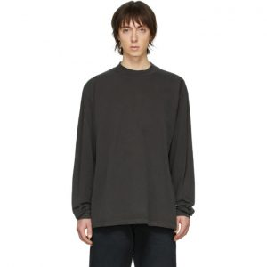 John Elliott Grey 900 Mock T-Shirt