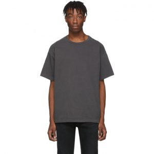 John Elliott Grey University T-Shirt