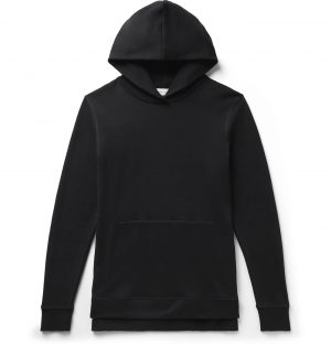 John Elliott - Villain Slim-Fit Loopback Cotton-Jersey Hoodie - Men - Black