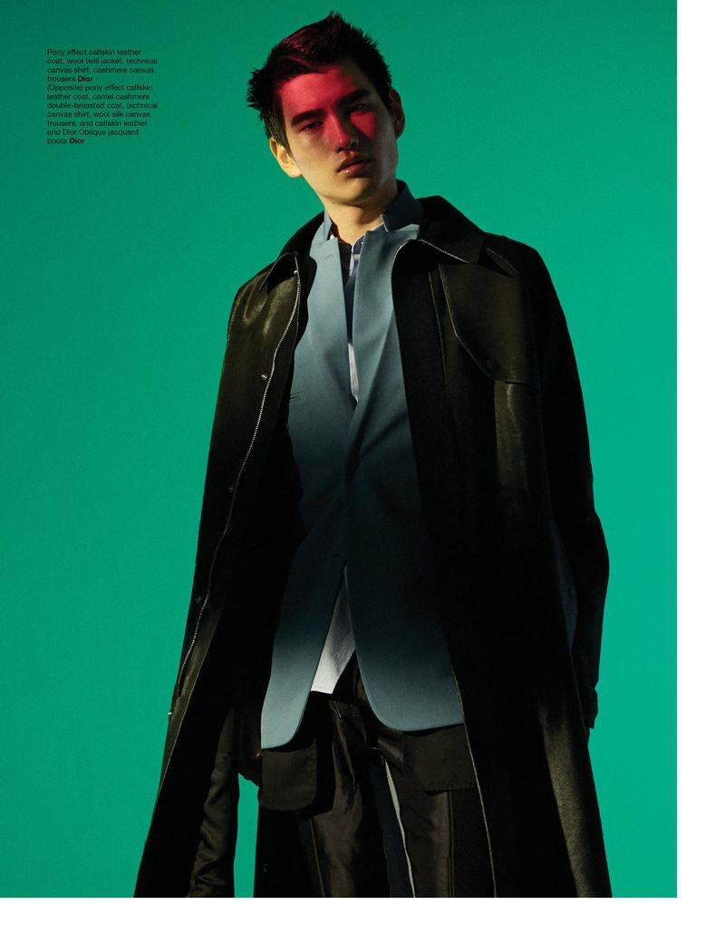 Kohei Dons Dior Men for Manifesto Cover Story