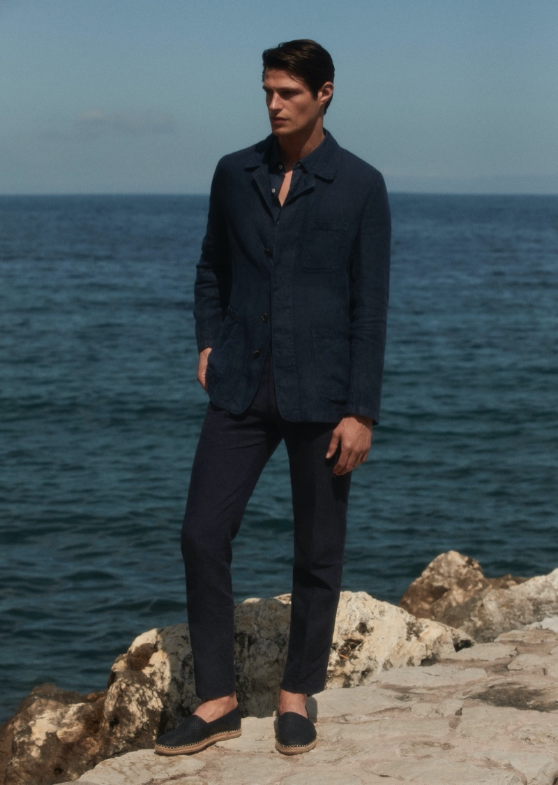 Into the Light: Mattia Summers in Style with Massimo Dutti