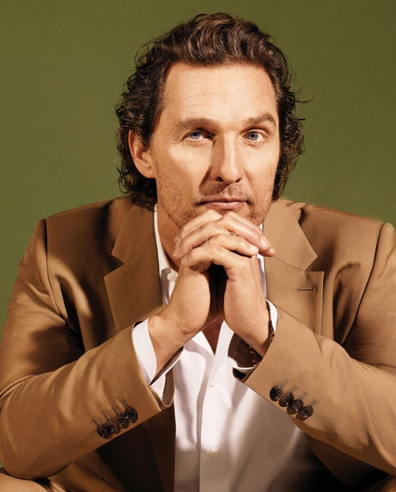 Actor Matthew McConaughey links up with Town & Country to discuss Just Keep Livin' Foundation.
