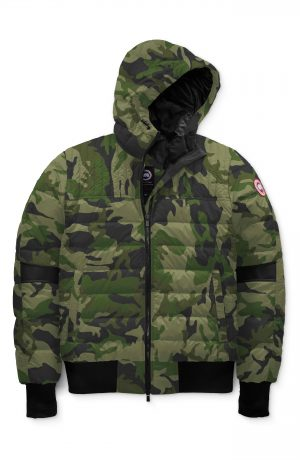 Men's Canada Goose Cabri Hooded Packable Down Jacket, Size Medium - Green