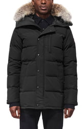 Men's Canada Goose Carson Fusion Fit Hooded Down Parka With Genuine Coyote Fur Trim