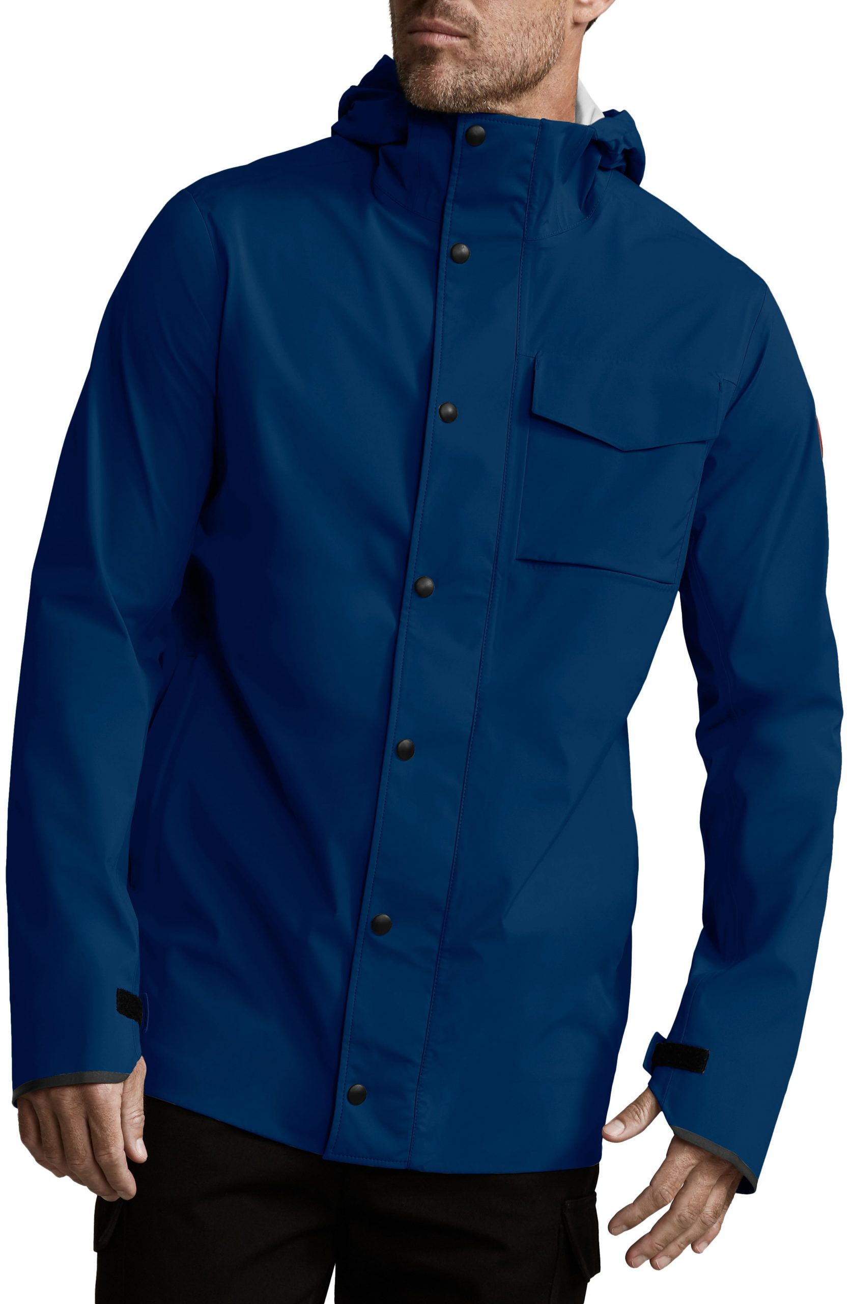 Men's Canada Goose Nanaimo Windproof/waterproof Jacket, Size Large - Blue