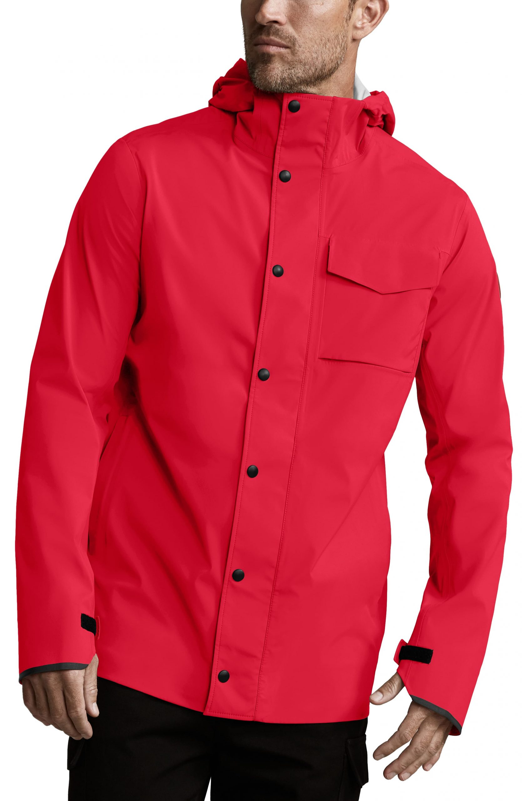 Men's Canada Goose Nanaimo Windproof/waterproof Jacket, Size Small - Red