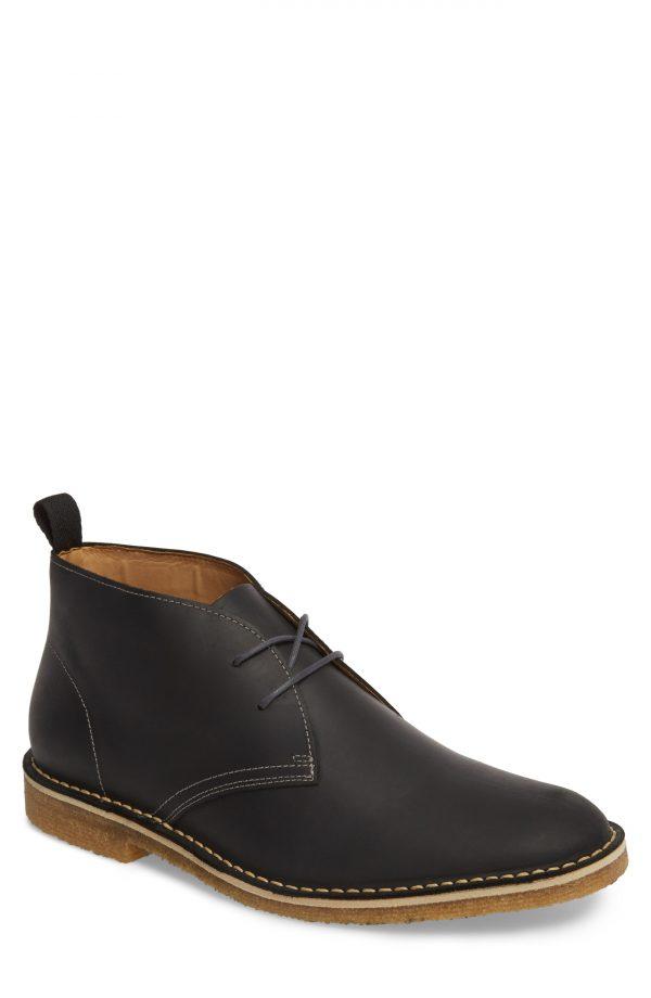 Men's Nordstrom Men's Shop Hudson Chukka Boot, Size 12 M - Black