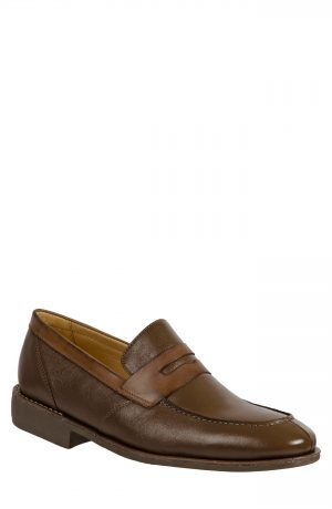 Men's Sandro Moscoloni 'Abel' Penny Loafer, Size 11.5 D - Brown