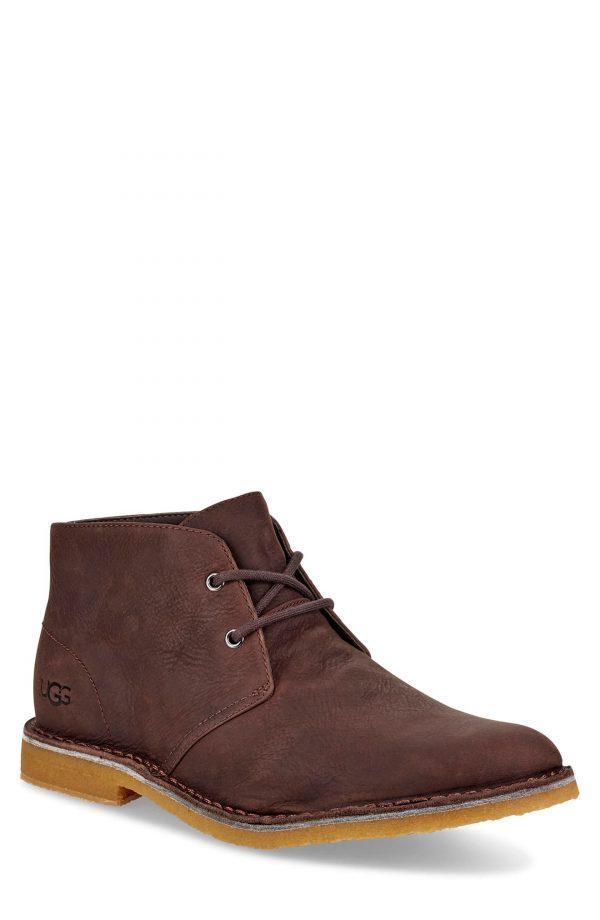 Men's UGG Groveland Chukka Boot, Size 7 M - Brown