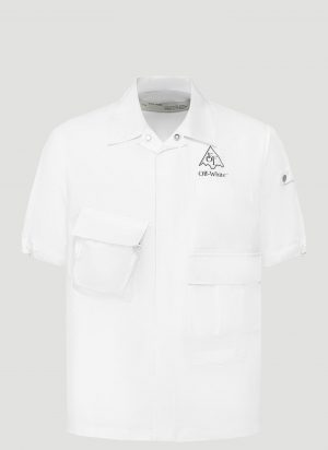 Off-White Vert Climb Voyager Shirt in White size L