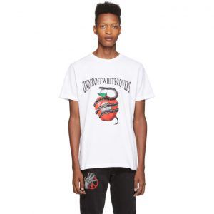 Off-White White Undercover Edition Apple T-Shirt