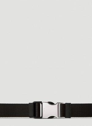 Prada Buckle Belt in Black size 95