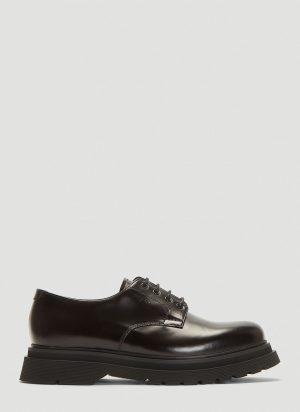 Prada Derby Shoes in Black size UK - 06