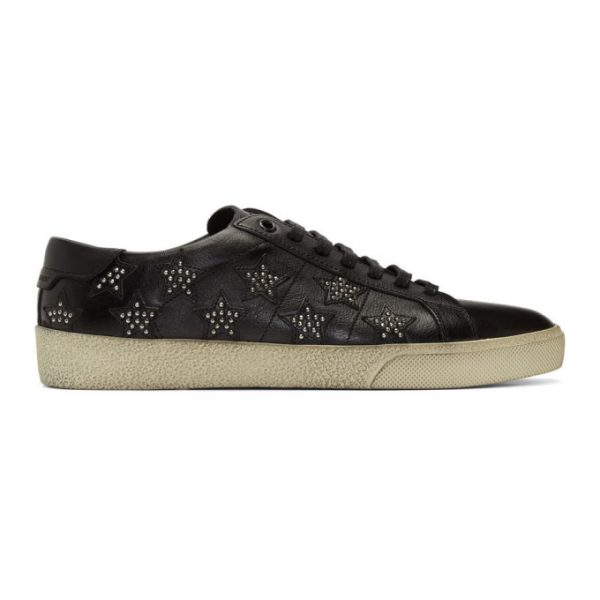 Saint Laurent Black Star Stud SL/06 Sneakers