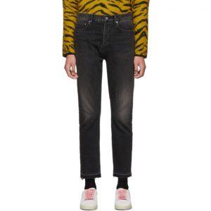 Saint Laurent Black Straight-Fit Jeans