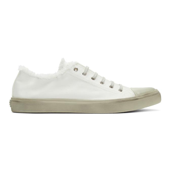 Saint Laurent Off-White Bedford Sneakers