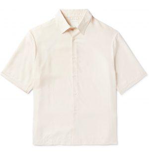 Sandro - Lyocell-Ripstop Shirt - Men - Neutrals